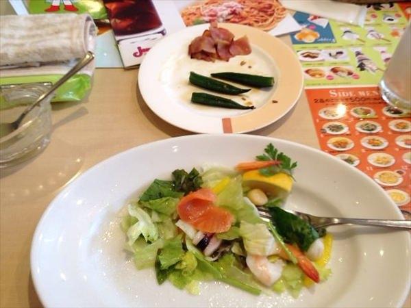 2日目の昼食(食後)
