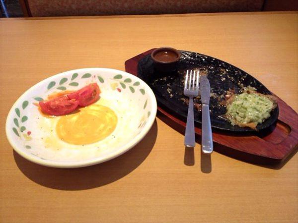 8日目の昼食(食後)