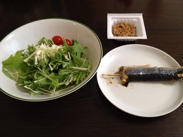 14日目の昼食