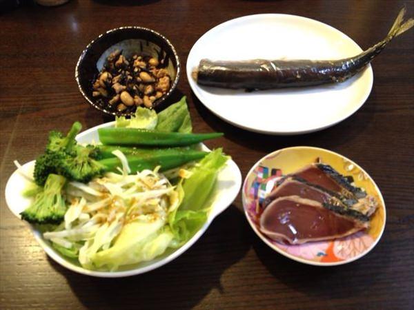 15日目の夕食