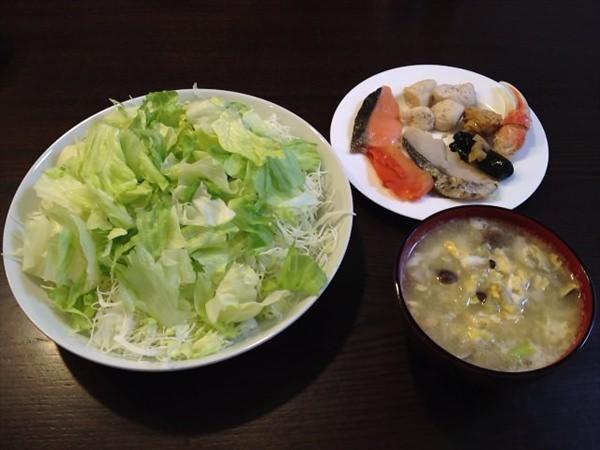 23日目の昼食
