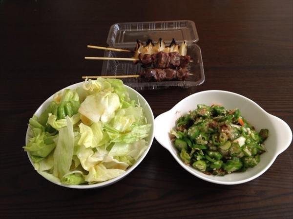 24日目の昼食