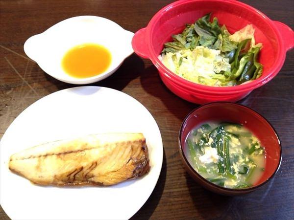 27日目の夕食