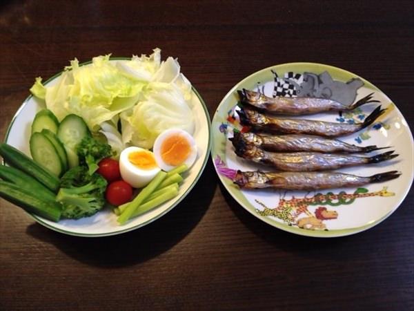 29日目の朝食
