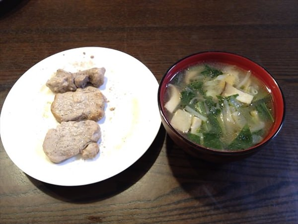 37日目の夕食