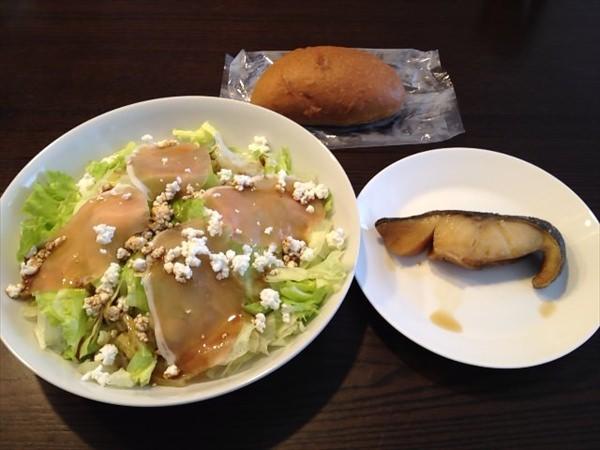 38日目の昼食