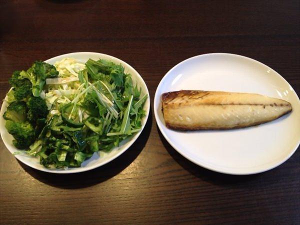 39日目の朝食