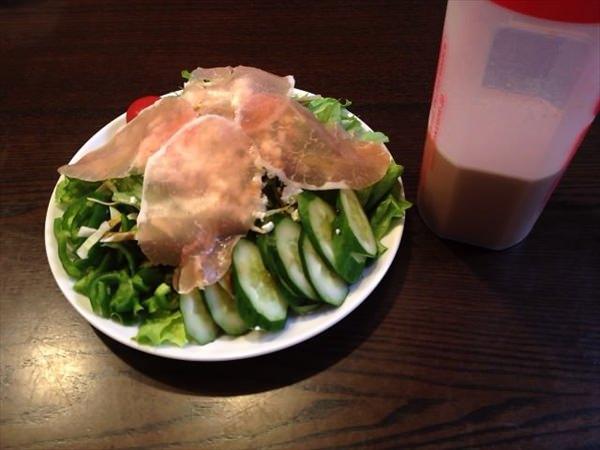 53日目の夕食
