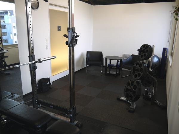 トレーニングルーム全体