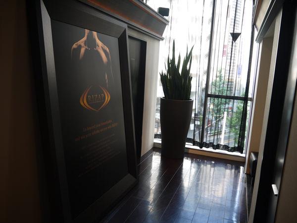 新宿店3Fの廊下から見た景色
