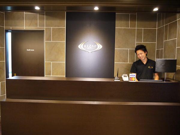 横浜西口店カウンター