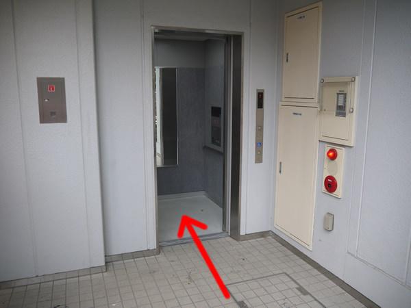 ユニオン新宿ビルのエレベーター