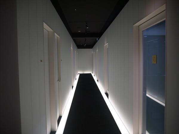 銀座店の廊下