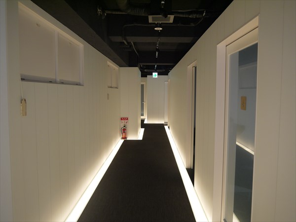 3Fの廊下