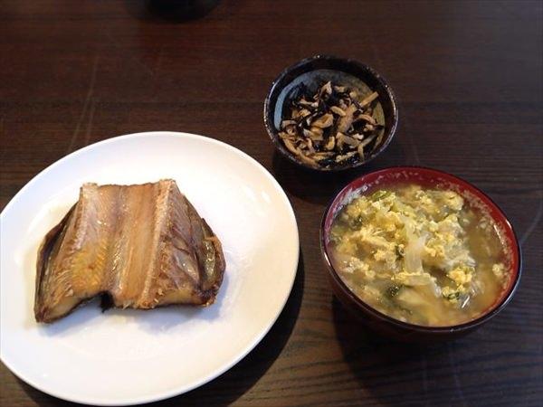 26日目の朝食