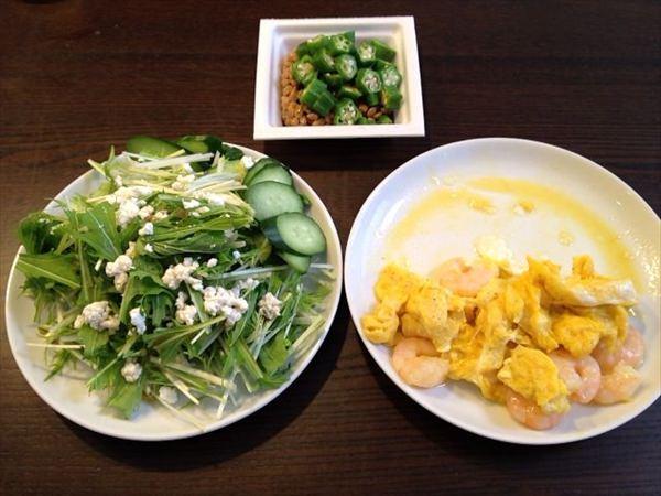 42日目の朝食