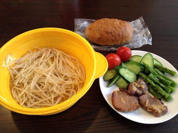 44日目の昼食