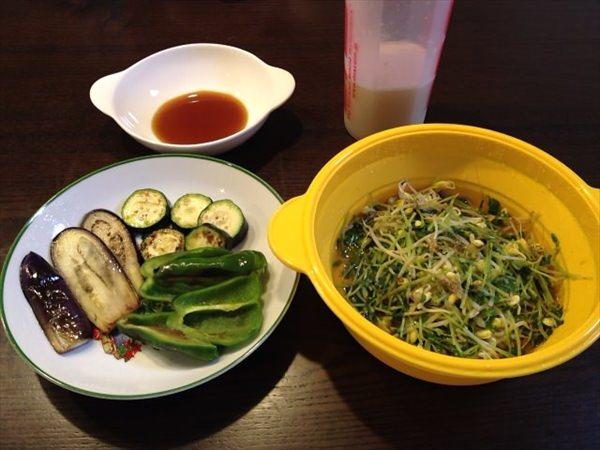 46日目の夕食