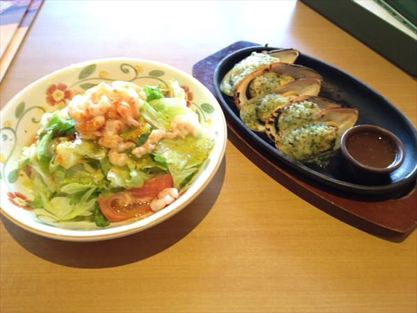48日目の昼食