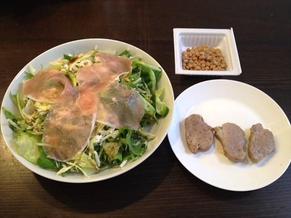 56日目の昼食