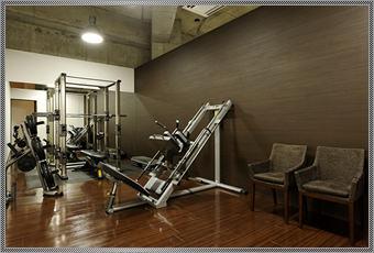 トレーニングルームのイメージ
