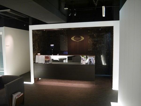 ライザップ川崎店のフロント