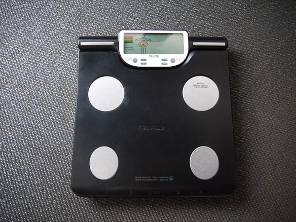 各ブースにある体重計