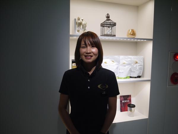 ライザップ千葉店の女性トレーナー
