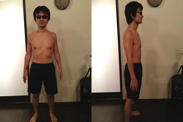 ダイエット後の体型