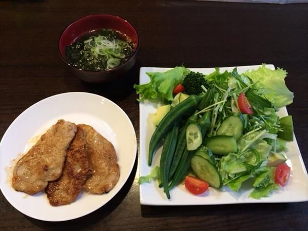 ペア2日目の昼食