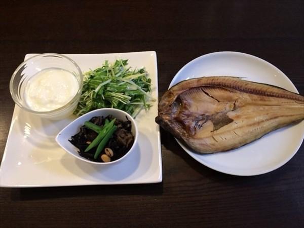 ペア7日目の昼食