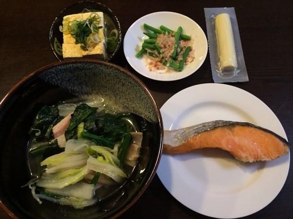 ペア9日目の夕食
