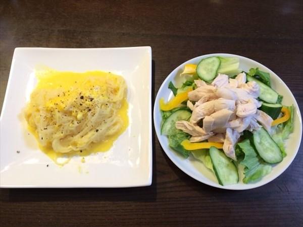 ペア30日目の夕食