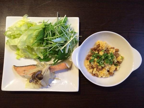 ペア46日目の朝食