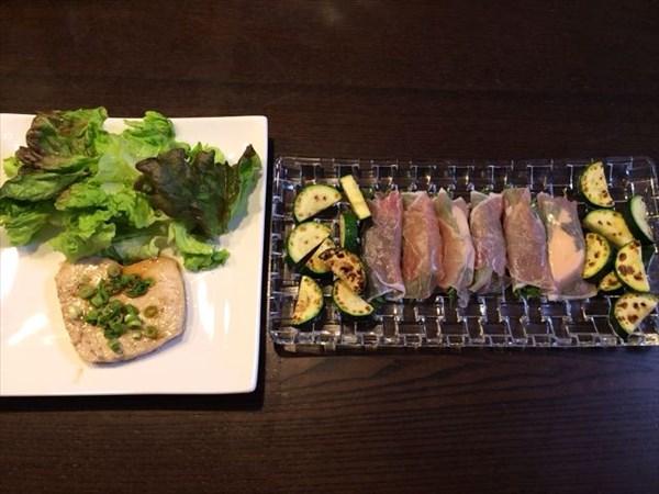 ペア46日目の夕食