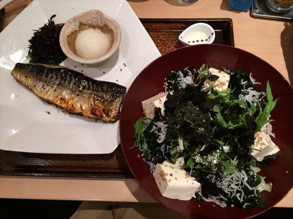 ペア47日目の夕食