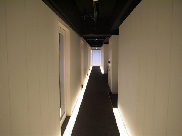 京都店内の廊下の様子