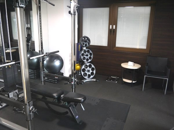 京都店のトレーニングルームの様子その1