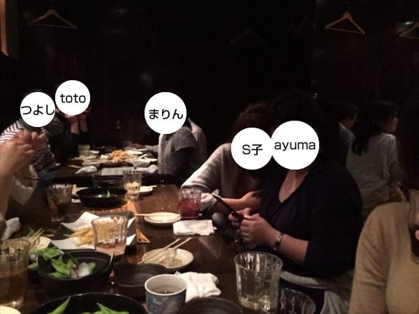 ayumaさんに接近するS子
