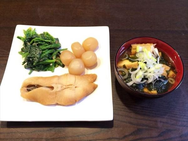 ペア51日目の昼食