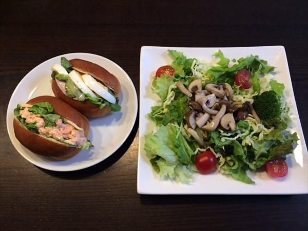 ペア58日目の昼食