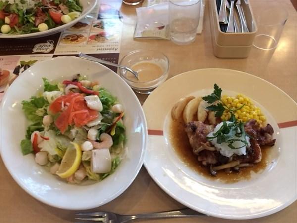 ペア59日目の昼食(嫁)