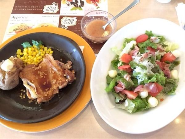 ペア59日目の昼食(管理人)