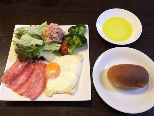 ペア最終日の朝食
