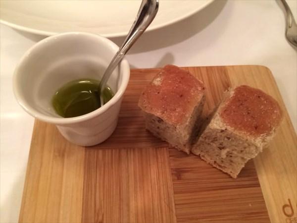 自家製オリーブパン