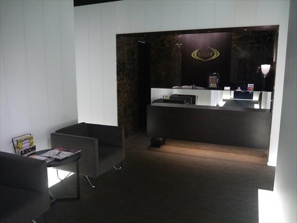 ライザップ札幌店のフロント