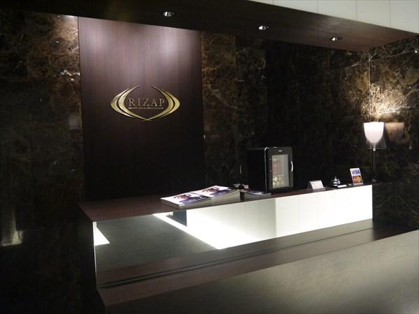 ライザップ札幌店のカウンター