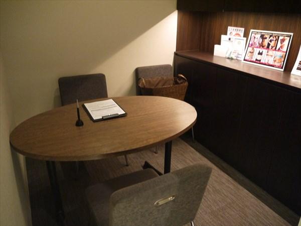 ライザップ札幌店のカウンセリングルーム