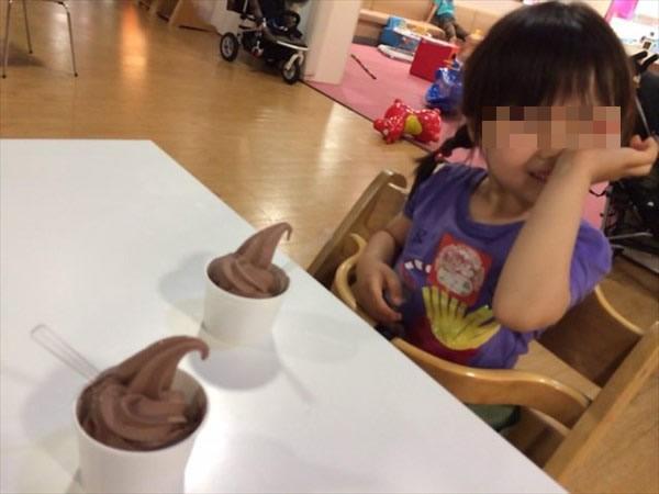 チョコソフトクリーム