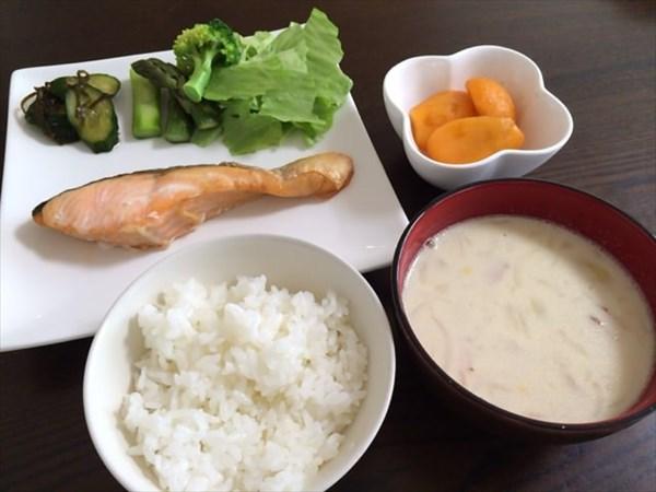 1ヶ月ダイエット3日目の朝食